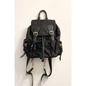 Mini Nylon Drawstring Backpack